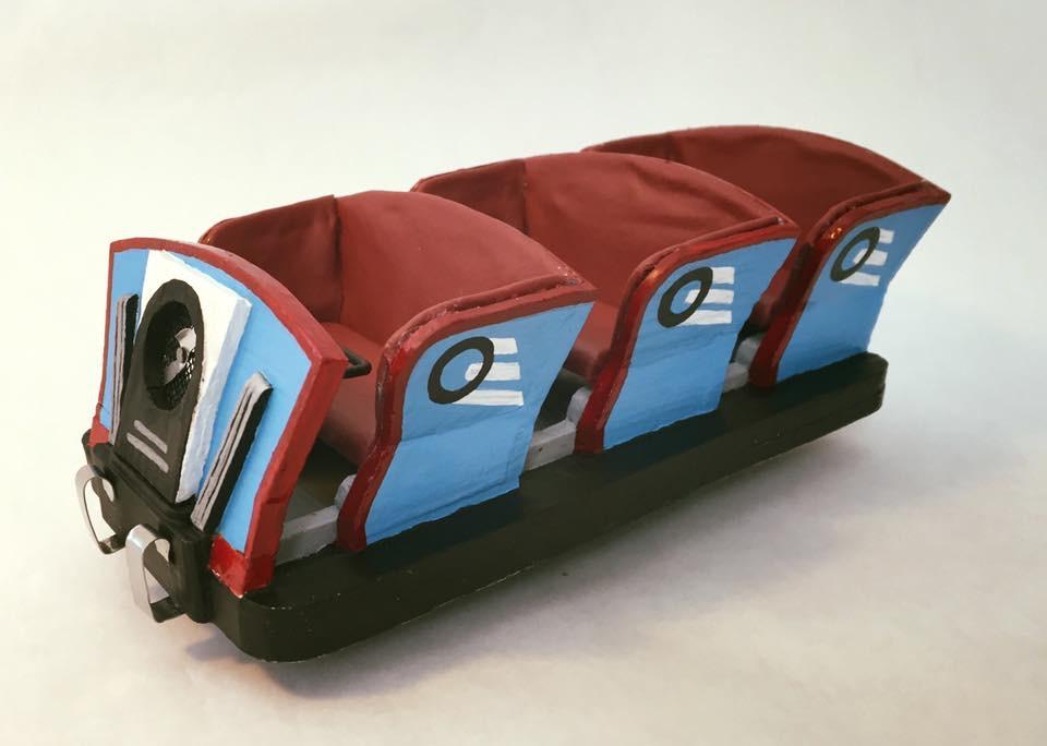 "<a href=""http://michaelecostello.com/jack-rabbit-car/"">1920s Roller Coaster Car Model</a>"